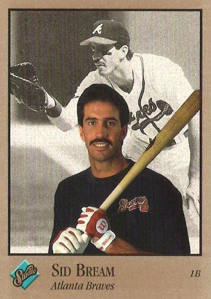 Bream, Sid / Atlanta Braves / Studio No. 2   Baseball Trading Card (1992)