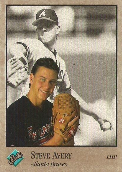 Avery, Steve / Atlanta Braves / Studio No. 1 | Baseball Trading Card (1992)