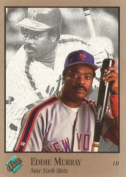 Murray, Eddie / New York Mets / Studio No. 68 | Baseball Trading Card (1992) / Hall of Famer