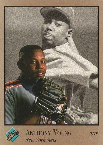 Young, Anthony / New York Mets / Studio No. 70 | Baseball Trading Card (1992)