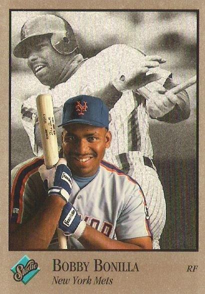 Bonilla, Bobby / New York Mets / Studio No. 61 | Baseball Trading Card (1992)