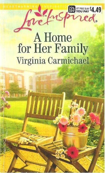 Carmichael, Virginia / A Home for Her Family / Harlequin | Book (2014)