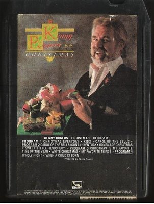 Rogers, Kenny / Christmas / Liberty 8LOO-51115 | 8-Track Tape (1981)