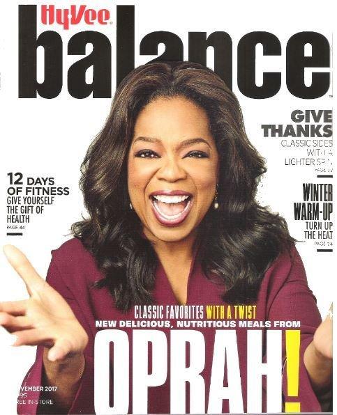 Balance (Hy-Vee) / Oprah Winfrey - November 2017   Magazine