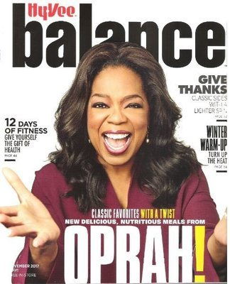 Balance (Hy-Vee) / Oprah Winfrey - November 2017 | Magazine