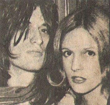 Aerosmith / Joe Perry with Wife Elyssa | Magazine Photo (1976)