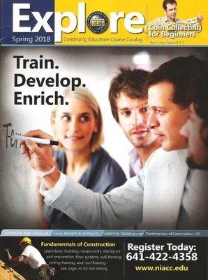 Explore (NIACC) / Train. Develop. Enrich. / Spring 2018 | Catalog