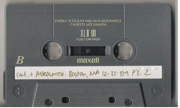 Aerosmith / Boston, MA - December 31, 1989 | Live + Rare Cassette | Part 2