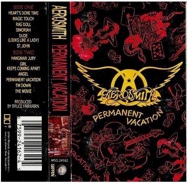 Aerosmith / Permanent Vacation / Geffen M5G-24162 | Cassette | 1987
