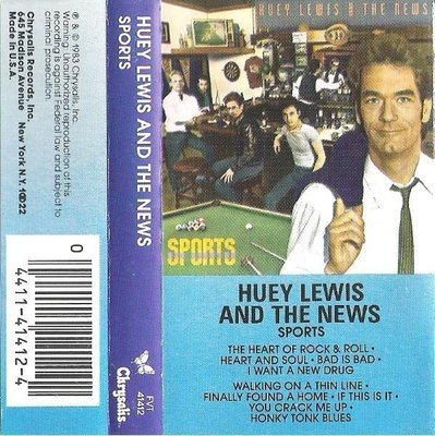 Lewis, Huey (+ The News) / Sports / Chrysalis FVT-41412 | Cassette | 1983