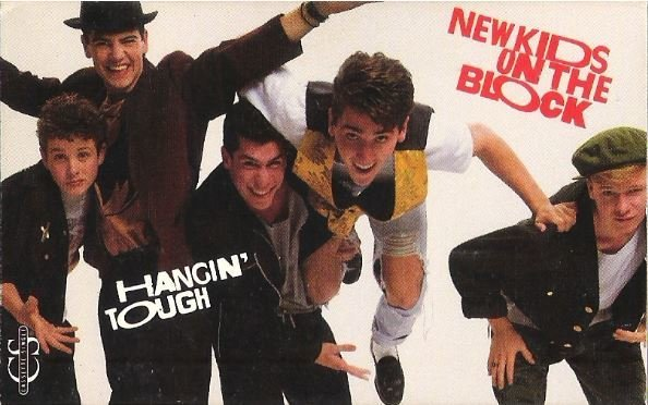 New Kids On the Block / Hangin' Tough / Columbia 38T-68960 | Cassette Single | 1989