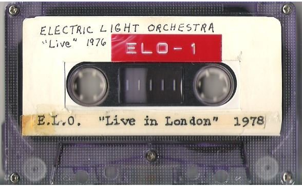 Electric Light Orchestra / BBC In Concert Series - 1976 | Live + Rare Cassette