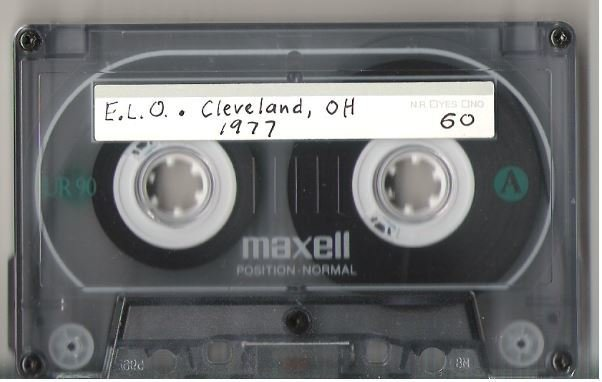 Electric Light Orchestra / Cleveland, OH - February 19, 1977 | Live + Rare Cassette