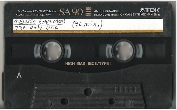 Etheridge, Melissa / The Only One | Live + Rare Cassette