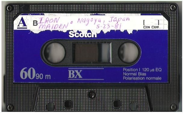 Iron Maiden / Nagoya, Japan - May 23, 1981 | Live + Rare Cassette
