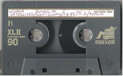 Georgia Satellites / London, England - July 6, 1989 | Live + Rare Cassette | Part 2