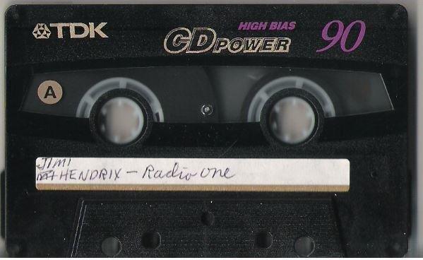Hendrix, Jimi / Radio One - Various Live 1967 | Live + Rare Cassette