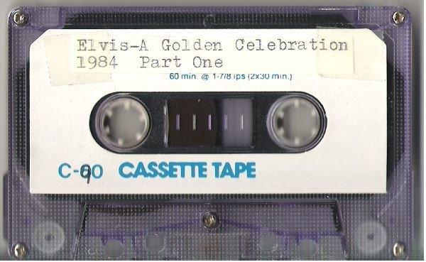 Presley, Elvis / Elvis - A Golden Celebration - 1984   Live + Rare Cassette   Part 1   Narrated by Pete Townshend