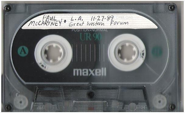 McCartney, Paul / Press Conferences 1989-90 | Live + Rare Cassette