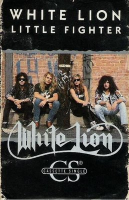 White Lion / Little Fighter / Atlantic 4-88874 | Cassette Single | 1989
