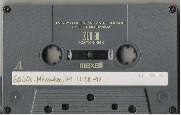 Go-Go's, The / Milwaukee, WI - November 28, 1990 | Live + Rare Cassette