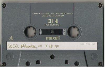 Go-Go's, The / Milwaukee, WI - November 28, 1990 | Live + Rare Cassette