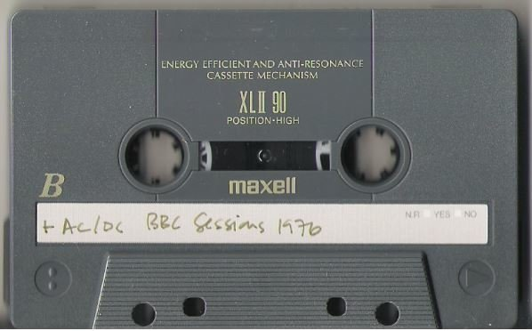 AC/DC / BBC Sessions - 1976 | Live + Rare Cassette