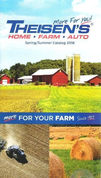 Theisen's / More for Your Farm - Spring/Summer 2018 | Catalog