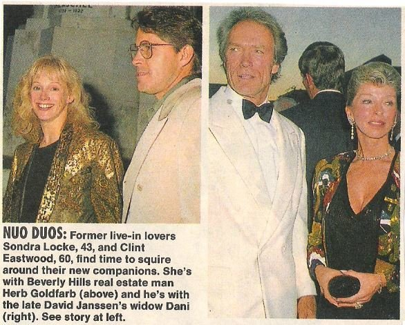 Eastwood, Clint / Nuo Duo | Magazine Article + 2 Photos | 1990