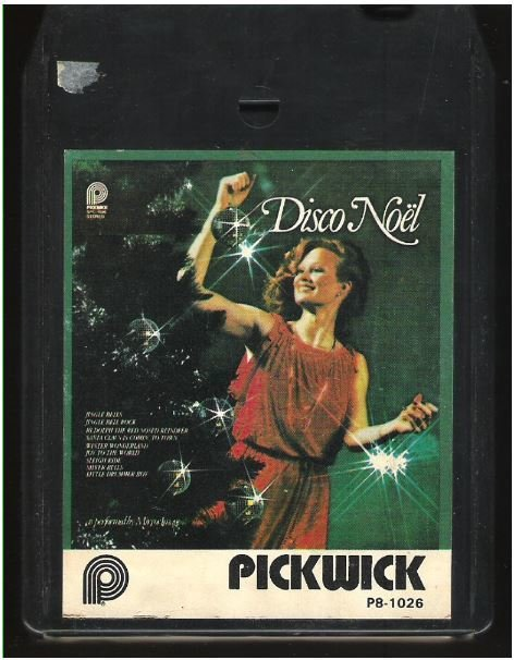 Mirror Image / Disco Noel / Pickwick P8-1026 | Black Shell | 8-Track Tape | 1979