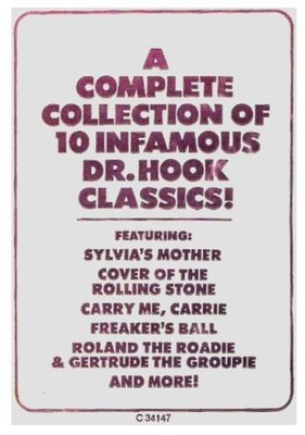 Dr. Hook + The Medicine Show / The Best of Dr. Hook | Columbia C-34147 | Sticker | 1976