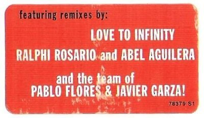 Estefan, Gloria / You'll Be Mine (Party Time) | Epic 78379 S1 | Sticker | August 1996