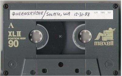 Queensryche / Seattle, WA | Live + Rare Cassette | December 31, 1988