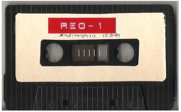 REO Speedwagon / Indianapolis, IN | Live + Rare Cassette | December 31, 1984