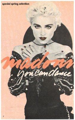 Madonna / You Can Dance - Selection of the Month | Magazine Ad | Spring 1988