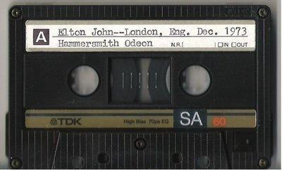 John, Elton / London, UK | Live + Rare Cassette | December 22, 1973 | Part 1