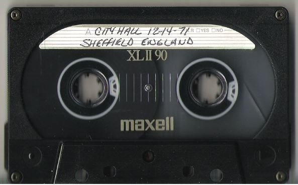 John, Elton / Sheffield, UK | Live + Rare Cassette | December 14, 1971