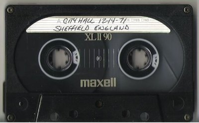 John, Elton / Sheffield, UK | Live + Rare Cassette | December 14, 1971