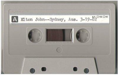 John, Elton / Sydney, Australia | Live + Rare Cassette | March 19, 1982 | Part 1