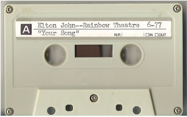 John, Elton / London, UK | Live + Rare Cassette | May 1977 | Part 1