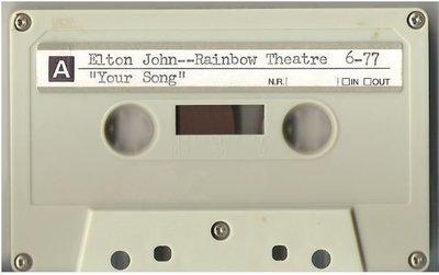 John, Elton / London, UK | Live + Rare Cassette | May 1977 | Part 1