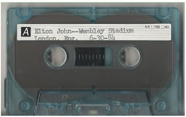 John, Elton / London, UK | Live + Rare Cassette | June 30, 1984