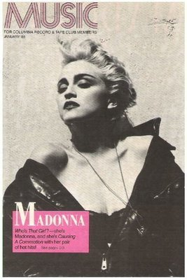 Madonna / Who's That Girl - Selection of the Month | Magazine Ad | January 1988