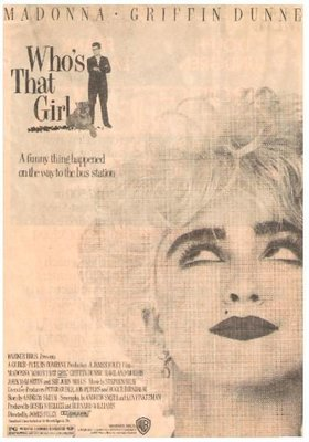 Madonna / A Funny Thing Happened on the Way to the Bus Station | Newspaper Ad | 1987
