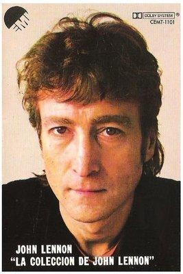 Lennon, John / La Coleccion De John Lennon | EMI CEMT-1101 | Cassette | November 1982 | Mexico
