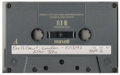 John, Elton / London, UK - Earl's Court | Live Cassette | May 13, 1993 | Part 2