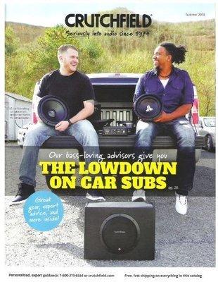 Crutchfield / The Lowdown On Car Subs | Catalog | Summer 2018