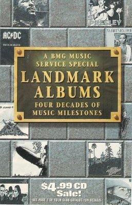 BMG Music Service / Landmark Albums | Catalog | 1996
