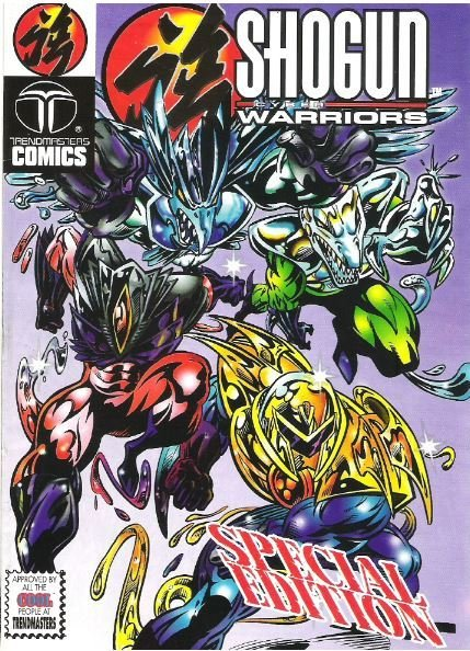 Shogun Cyber Warriors / Special Edition | Trendmasters Comics | Comic Book | 1994