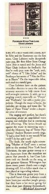 Close Lobsters / Foxheads Stalk This Land   Magazine Review   1987